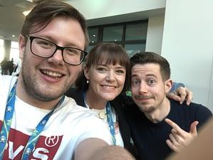 Social Media Marketing World 2018 with Serena Ryan, Andrew Pickering and Peter Gartland
