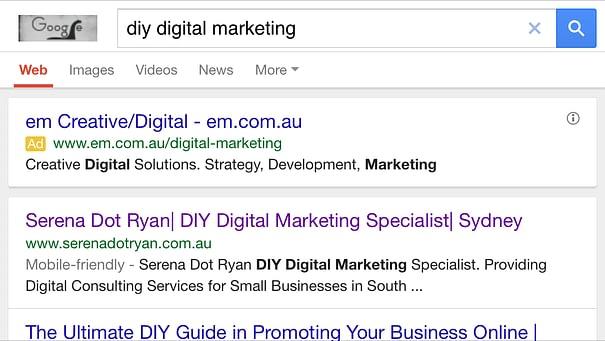 Serena Dot Ryan - Use keywords for Online Visibility
