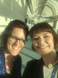 Social Media Marketing World 2018 with Jo Saunders and Serena Ryan