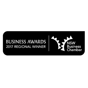 Serena Dot Ryan - NSW Business Chamber 2017 Regional Winner