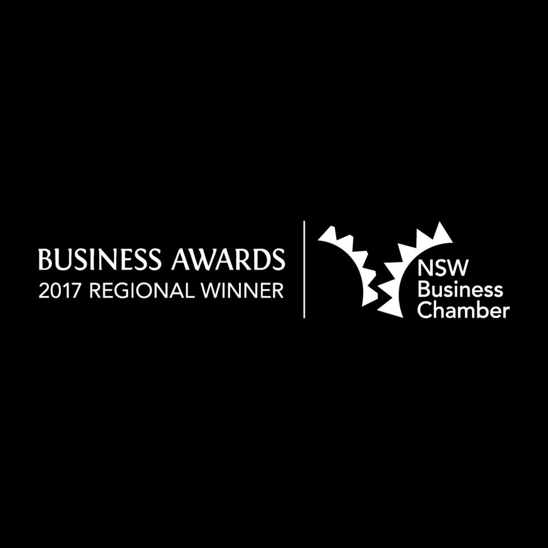Serena Dot Ryan - NSW Business Chamber 2017 Regional Winner